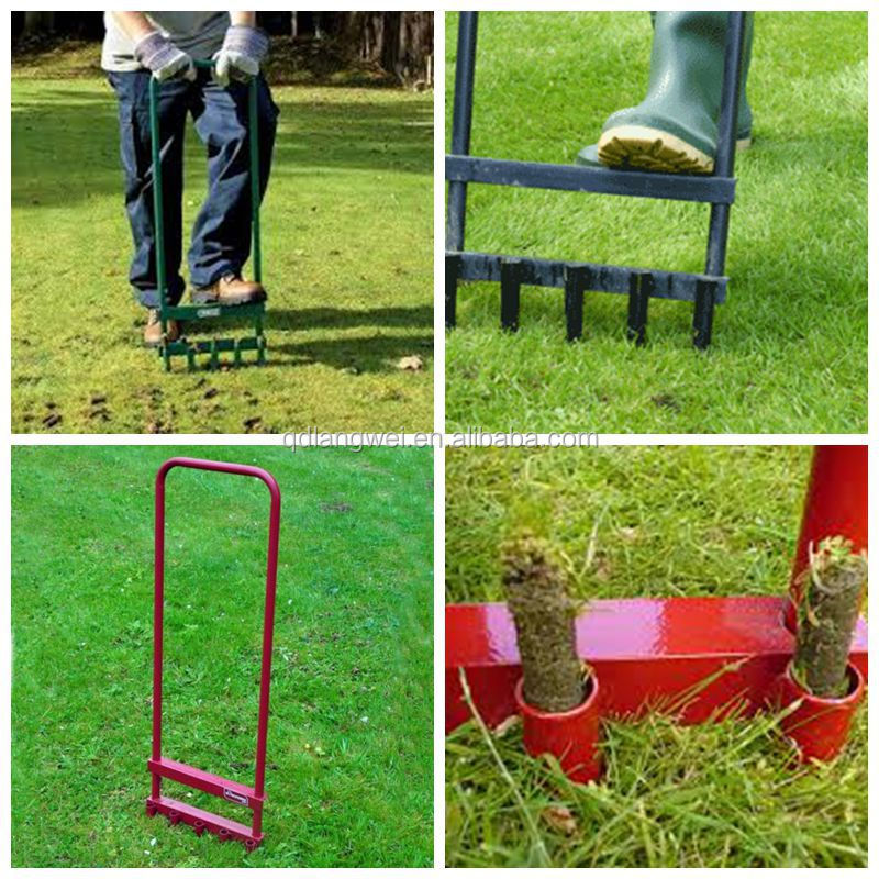 5 Prong Hollow Tine Garden Lawn Aerator Buy Lawn AeratorGarden