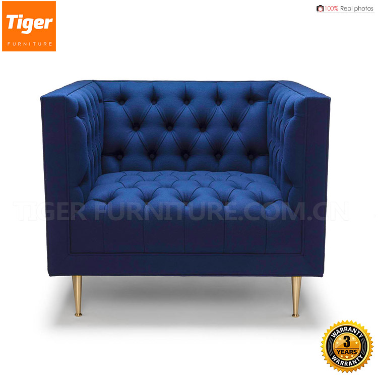 2017 new antique velvet easy armchair durability for sale Living Room Chairs