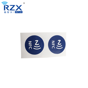 Roll Packing Micro Waterproof Passive NFC / RFID Label For Payment /  Identification