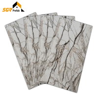 Exterior Wall Panel Wall Panel 3d Board Insulated PU Foam Board Used for Villa Steel Structure Office Building