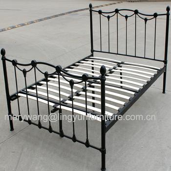 Muebles/mano Forjada/pintura/king Size Metal Forjado Diseños Cama ...