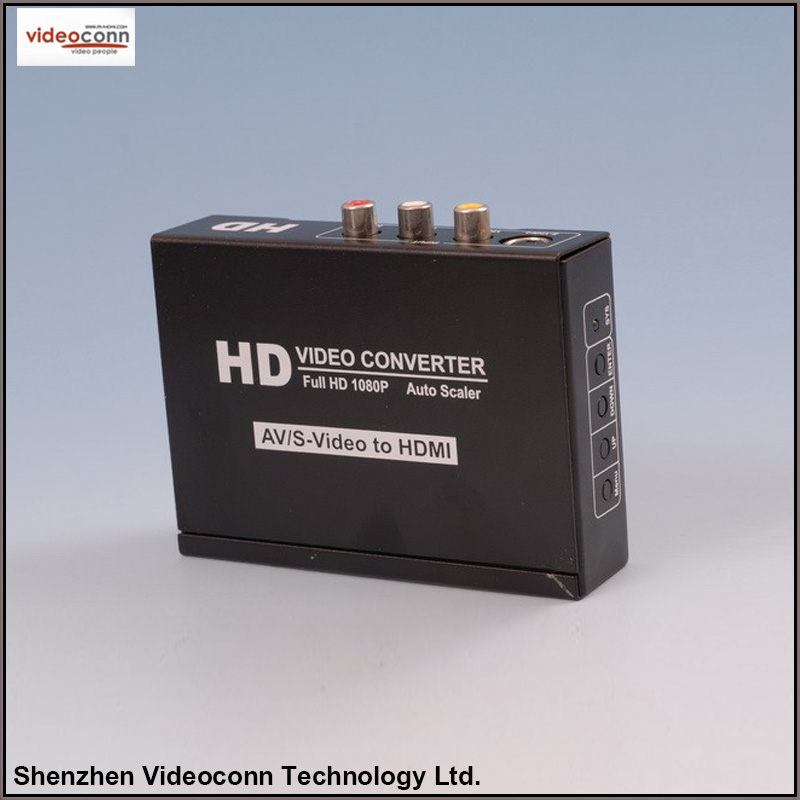 1080P AV/S-Video/R/L Audio to HDMI Converter