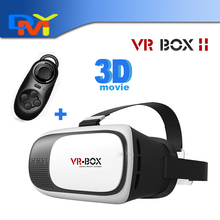 Google Cardboard VR BOX 2.0 II Smartphone Headset 3D Virtual Reality Glasses Helmet Goggle Oculus Rift DK2 Head Mount+Controller