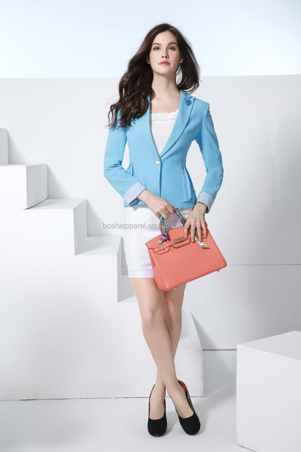 New Style Ladies Girls Suit Office Uniform