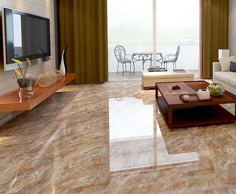New Pattern Marble Look Wood Tile Floor Interlocking