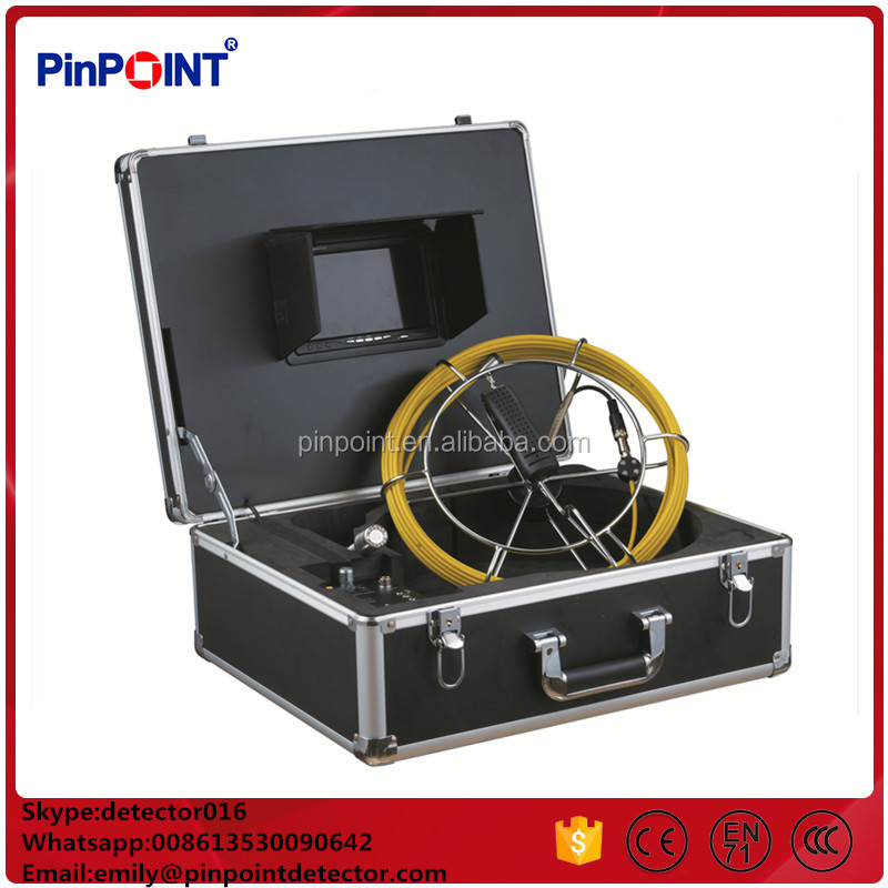 High quality and stable performance 50mm camera pipe inspection camera sewer underwater TEC-Z712DN