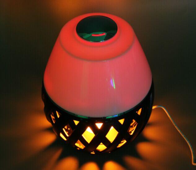 Aromathérapie E Amir 150 ml Ultrasonique Aroma Diffuseur avec 7 Coloré DEL Lumières