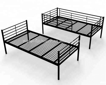 Furniture Bed,Galvanized Steel Metal Furniture Single Bed With Double Under  Drawers,anti