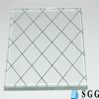 Supply Top Quality 6mm Safety Wire Mesh Reinforced Glass - Buy Wire ...