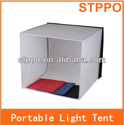Photo Studio 60cm Light Photography Tent Box Backdrop Cube