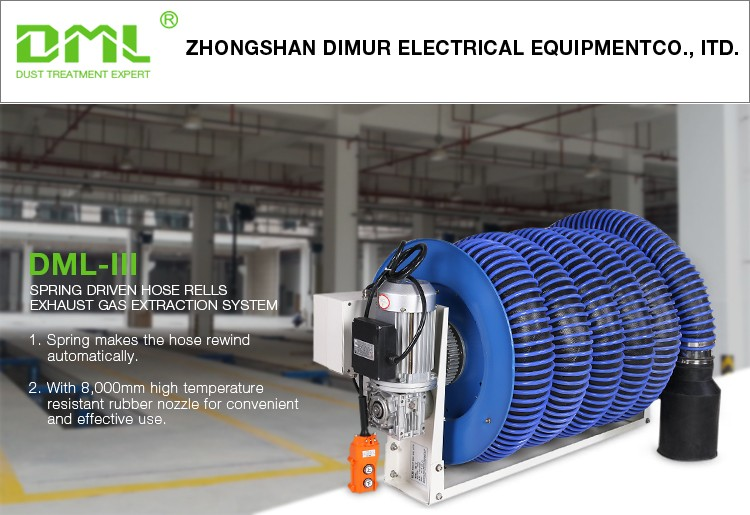 Garage Ventilation Hose : Movable exhaust ventilation system gas extraction