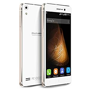 Generic Blackview Omega Pro 16GB, Network: 4G, 5.0 inch Android 5.1 MTK6753 Octa Core 1.5GHz, RAM: 3GB (White + Gold)