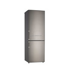 Direct cooling white finish double doors refrigerator with fridge and freezer