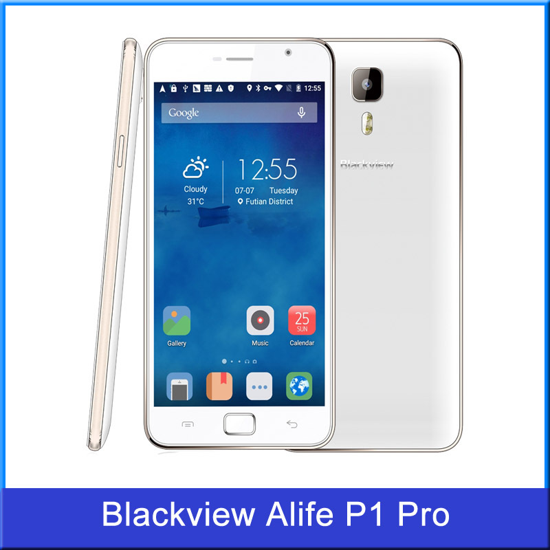 Blackview Alife P1 Pro 5 5 inch Android 5 1 MT6735 Quad Core ROM 16GB RAM  2GB Smartphone OTG Fringerprint 4G LTE & GSM & WCDMA