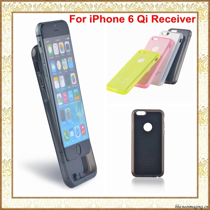 qi wireless charging receiver case for iphone 6 4 7 inch. Black Bedroom Furniture Sets. Home Design Ideas