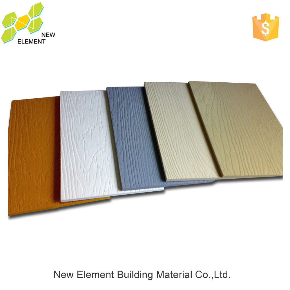 Low Price Timber Grain Fiber Cement Board Siding