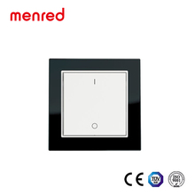MENRED Home wall Solar power No battery No wiring ac 220v mobile app touch wifi smart switch