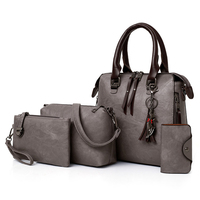 SWTR1809 Women Composite Bag Leather Purse and Handbags Female Shoulder Bag Set