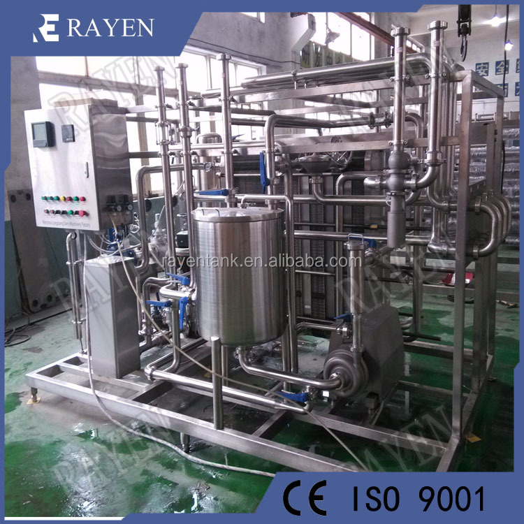 China stainless steel pasteurization sterilizer milk and juice pasteurizer