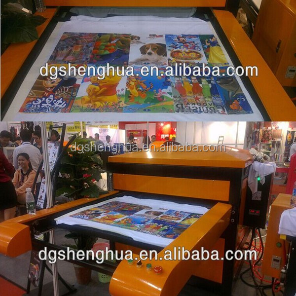 industrial dye sublimation heat press machine for garment, sportswear sublimation