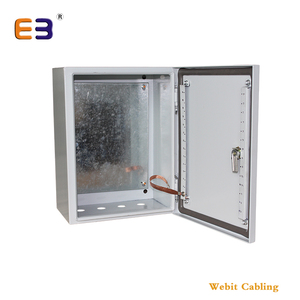 19'' Floor Standing Network Cabinet Outdoor Battery Cabinet