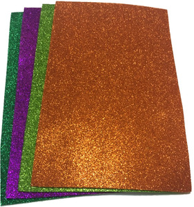 Assorted color Glitter EVA Ethylene Vinyl Acetate Sheet Paper