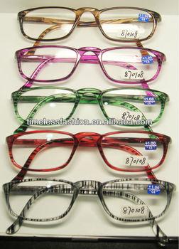 05 power reading glasses plastic