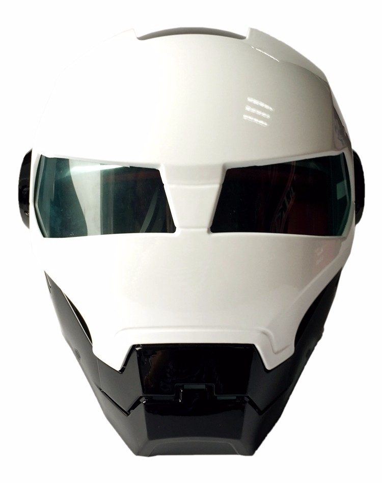 Iron Man Skull Motorcycle Helmet Masei 610 Casco Bike Capacete