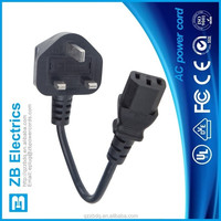 Power Supply UK power cord power cords with molded plug