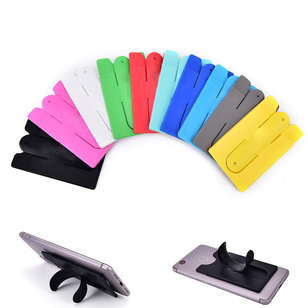 Removable Strong Sticker Smart Mobile Phone Self Adhesive ID Card Holder