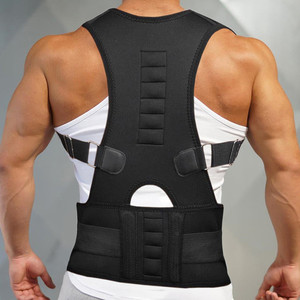 Orthopedic Back Support Belt Correct Posture Brace 10 Magnets Magnetic Posture Corrector