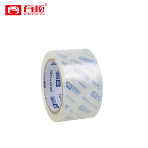 super clear packing tape low price free samples bopp adhesive carton sealing tape new products