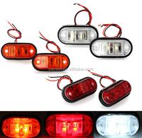 Car Truck Trailer LED Side Marker Blinker Light Lamp Bulb White DC 12V 24V Car LED Lights Tailight
