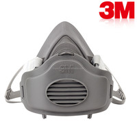 High Quality 3m Type Chemical Respirator Industrial Respirator half face gas mask /dust face mask same 3M 3200
