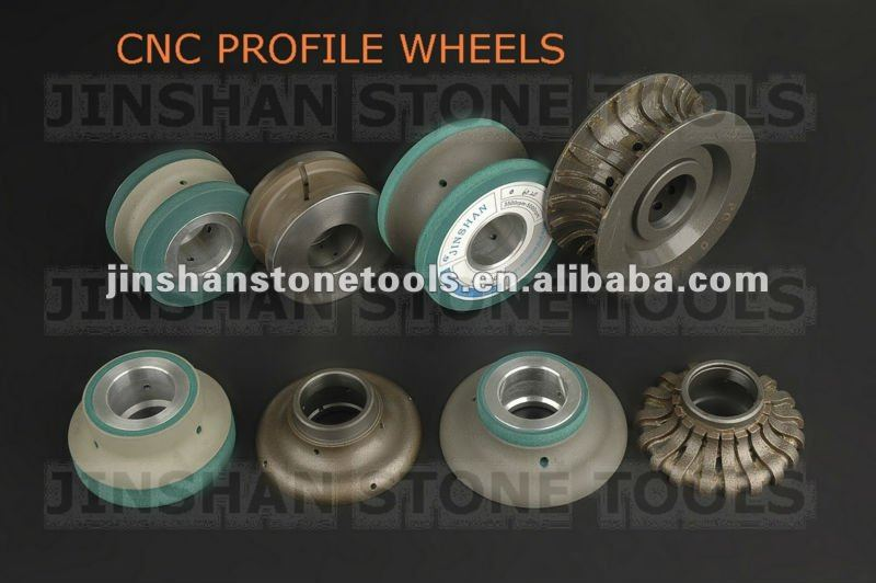 CNC PROFILE WHEELS, PROFILING WHEELS FOR CNC MACHINE