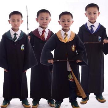Kids Harry Potter Costume Cloaks For Halloween Anime Cosplay Costume