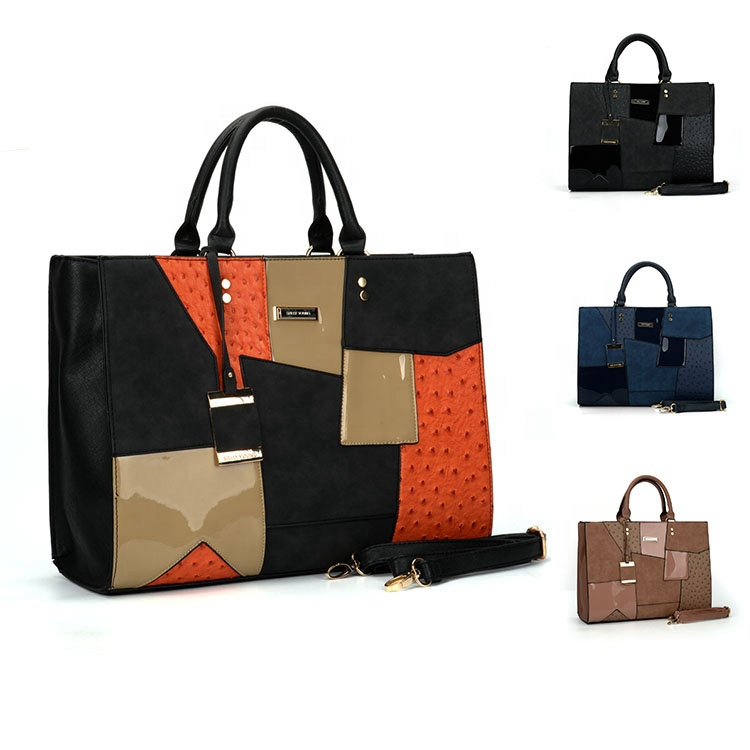 HEC 2020 Fashion Designer Pu Leather Material Women Handbag Wholesale