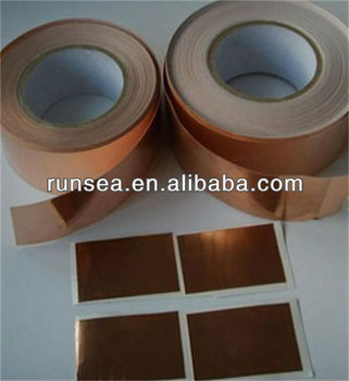 China Manufacturer Anti-static Copper Tape Emi Shielding