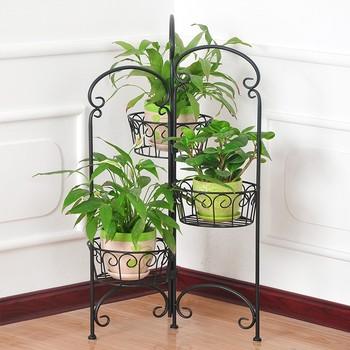 Flower Stand Wrought Iron Flower Holder Iron Flower Pot