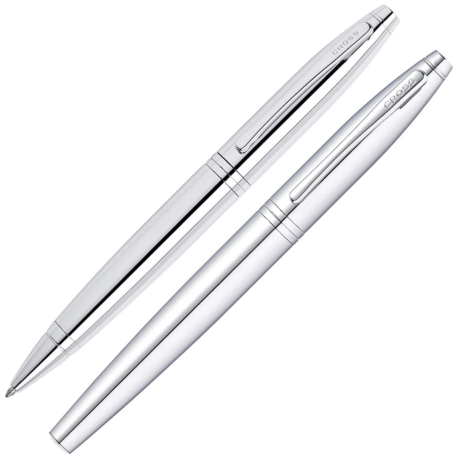 Buy Dayspring Pens | Engraved/Personalized Cross Calais Ballpoint and Rollerball Double Pen Gift Set with Case - Chrome in Cheap Price on m.alibaba.com