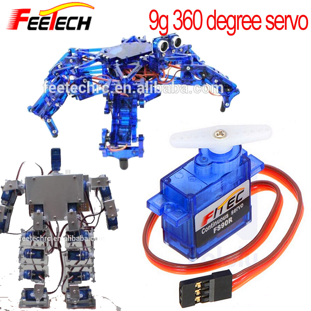 FS90R Micro 9g 360 Degree Continuous Rotation Robot RC Servo