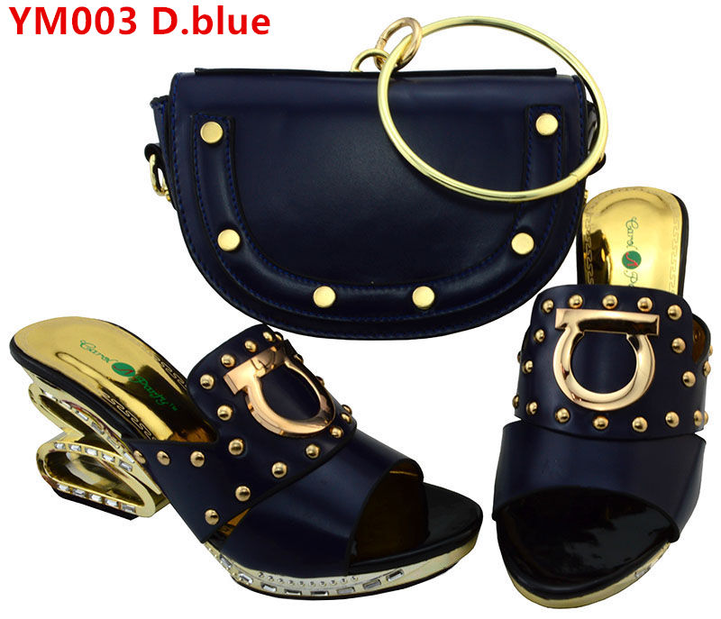 set Fashion shoes and matching for bag italian wedding Design nigerian rUxqUwHYa4
