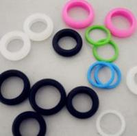 Encapsulated rubber o ring, soft silicone o ring