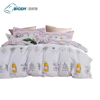 100% organic cotton bed sheets quilt cover christmas bedding sets