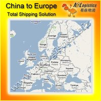 container transport china to europe