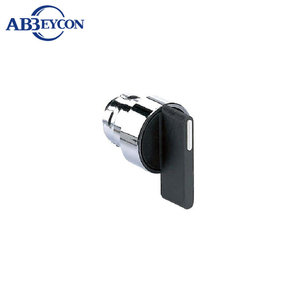 BB4101CXB2-BJ2 Black Long Handle Maintained Rotary Selector 2 Position Switch Push Button