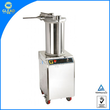 Factory direct selling 15l stainless steel manual sausage filler factory direct selling 15l stainless steel manual sausage fillerused sausage stuffer sciox Image collections
