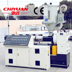 Hot sale twin screw extruder machine/ PVC Heat-shrinkable film blowing extruder