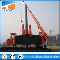 ZYC180T Hydraulic static pile driver/sheet piling/concrete pile pressing machine