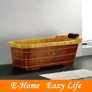 luxury antique freestanding wooden bathtubs